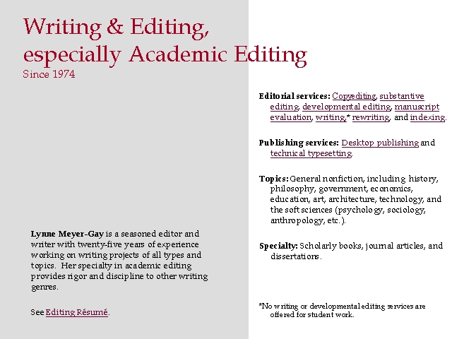 Dissertation Writing And Editing